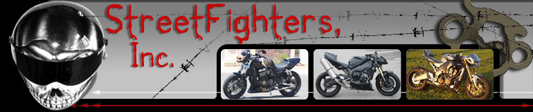 Kawasaki StreetFighters, SportBike & Motorcycle Accessories StreetFighters Inc.